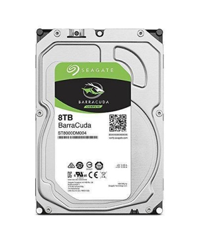 "Hard Disk Interno 8TB Seagate 3,5"" BarraCuda"