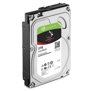 "Hard Disk Interno 3TB Seagate 3,5"" Nas Ironwolf"