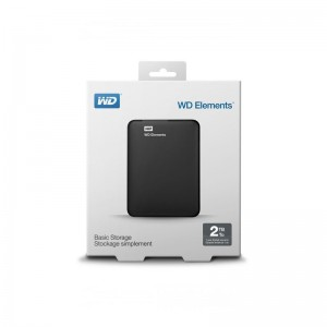 "Hard Disk Esterno  2,5"" 2TB Western Digital Wd Elements"