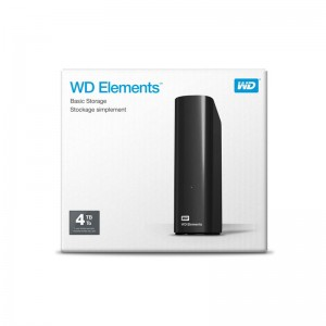 Hard Disk Esterno 4TB Western Digital WD Elements 3,5""