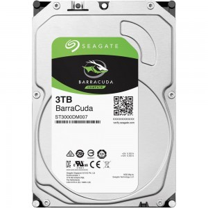 "Hard Disk Interno 3TB Seagate 3,5"" Barracuda"