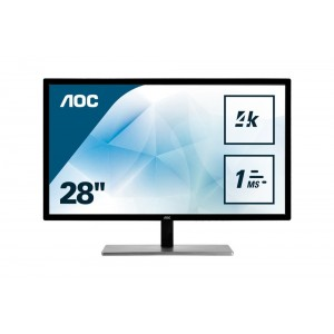 "Monitor 28"" Aoc Led Dvi Hdmi U2879VF"