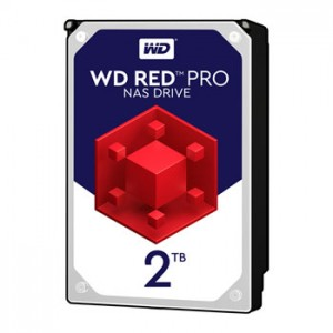 Hard Disk Interno 2TB Western Digital 3,5 Red Pro Nas