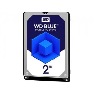 "Hard Disk Interno 2TB Western Digital Blue 2,5"" WD20SPZX"