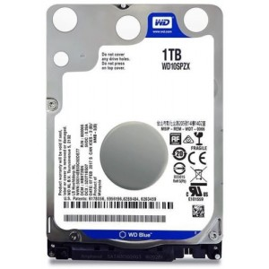 "Hard Disk Interno 1TB Western Digital Blue 2,5"" WD10SPZX"