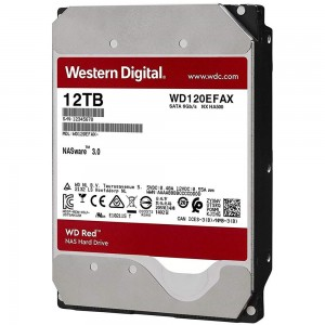 Hard Disk Interno 12TB Western Digital 3,5 Red Nas