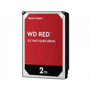 Hard Disk Interno 2TB Western Digital 3,5 Red Nas 256MB New