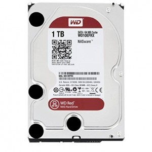 Hard Disk Interno 1TB Western Digital 3,5 Red Nas