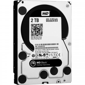 Hard Disk Interno 2TB Western Digital 3,5 Black Performance