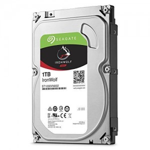 "Hard Disk Interno 1TB Seagate 3,5"" Nas Ironwolf"